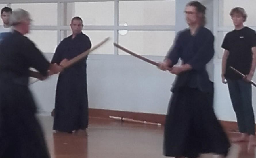 Entraînement Kendo
